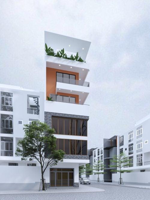 Thiết kế nhà ở phong cách Hiện Đại- Anh Huy