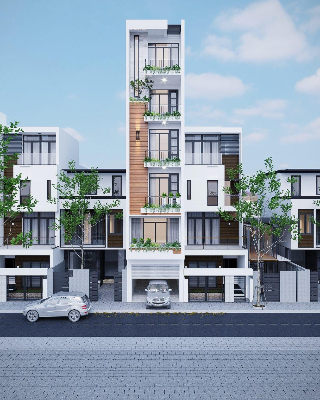 Thiết kế nhà ở phong cách Hiện Đại ( CĐT : Anh Phong - Hà nội )