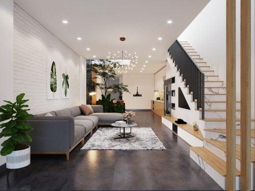 Thiết kế nội thất hiện đại nhà anh Đỗ Chung ( CĐT : Anh Đỗ Chung - Hà Nội )