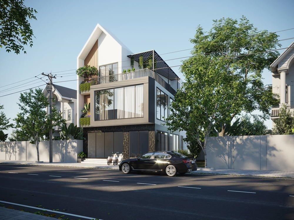 Thiết kế nhà đẹp phong cách Hiện Đại ( CĐT : Anh Đức - Phú Thọ )