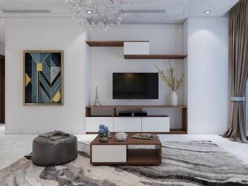 Thiết kế nội thất hiện đại nhà anh Tuấn- Anh Tuấn