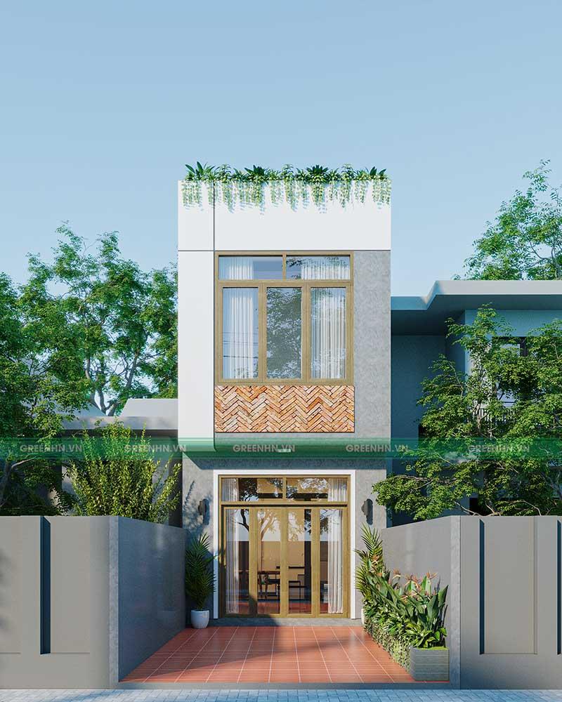Dự án thiết kế nhà phố nhà anh Đạt ở Phú Thọ