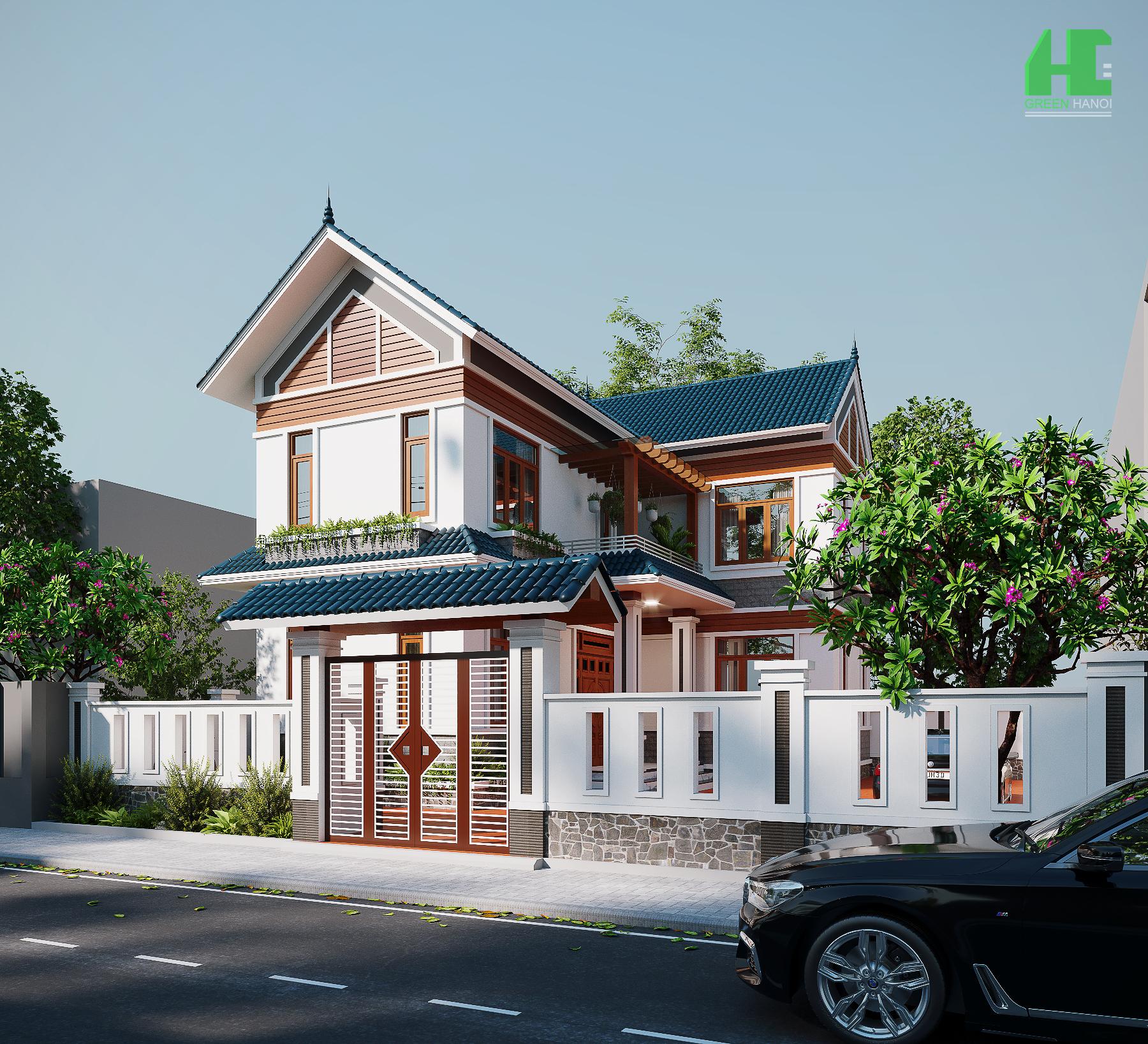 Nhà chị Phương- Nhà phố phong cách tân cổ điển