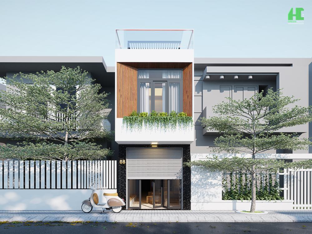 Nhà anh Tuân- Nhà phố phong cách hiện đại