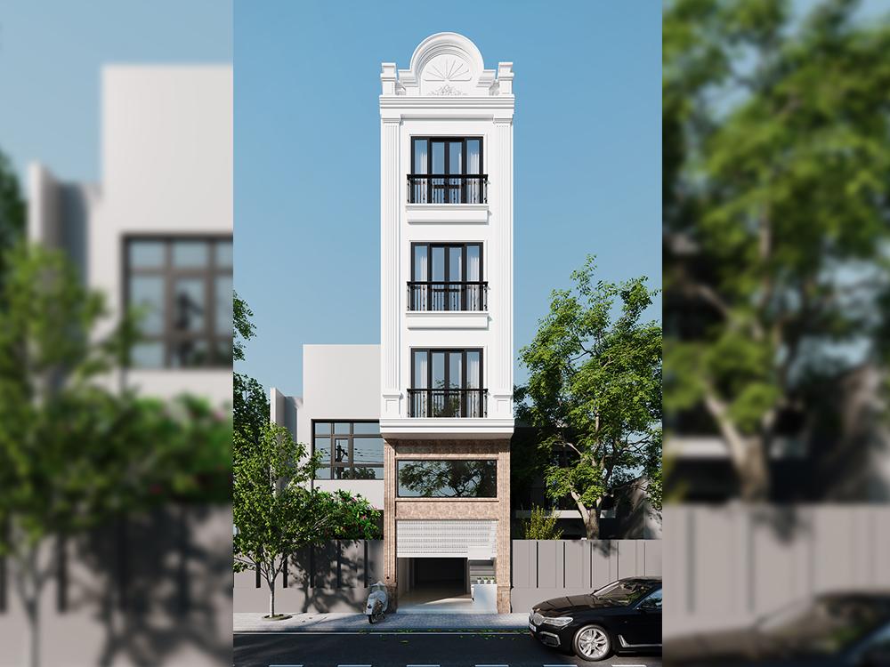 Nhà anh Công- Nhà phố phong cách tân cổ điển