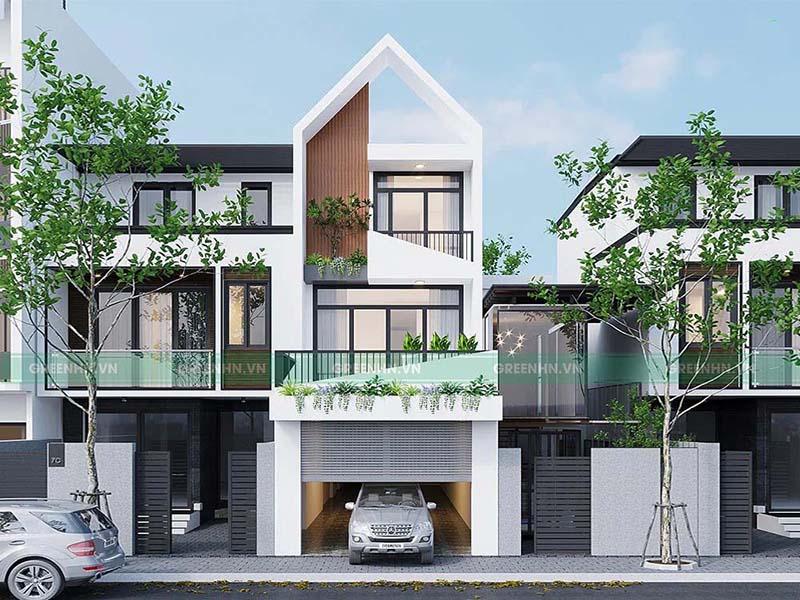 Báo giá các gói xây nhà trọn gói (nhà phố liền kề) 2021 chi tiết nhất
