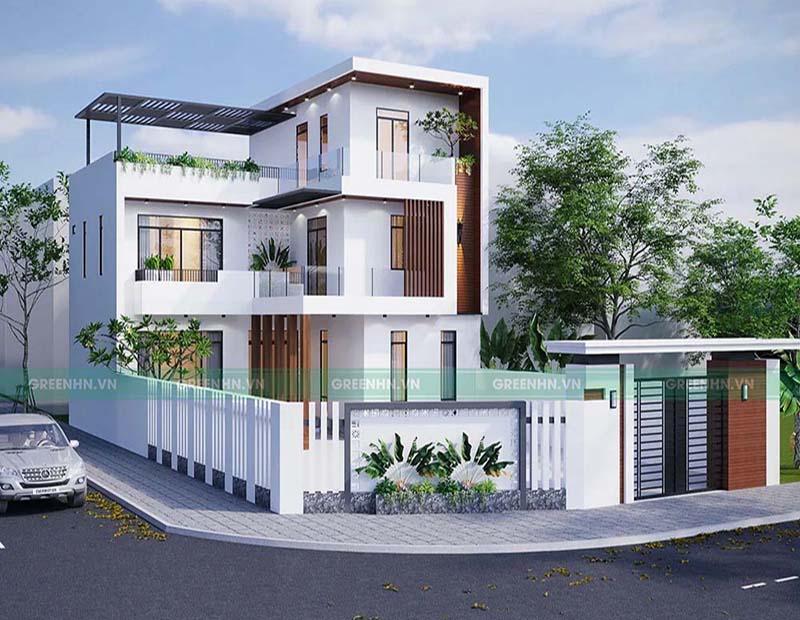 Khâu cuối cùng chính là hoàn thiện căn nhà với việc lắp đặt hệ thống điện, internet, nội thất...