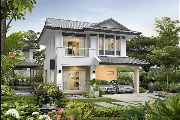 Dạng nhà vườn - biệt thự sẽ có chi phí cao hơn nhà liền kề (nhà phố)