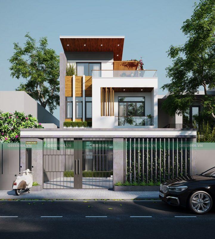 Sau khi hoàn thiện, ngôi nhà được bàn giao cho gia chủ để đi vào quá trình sử dụng
