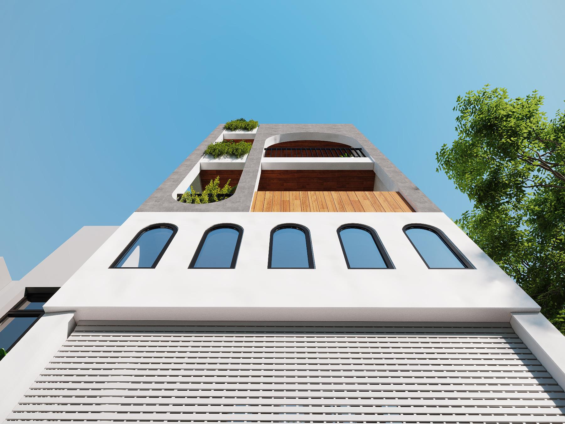nhà Anh Minh - nhà phố phong cách hiện đại