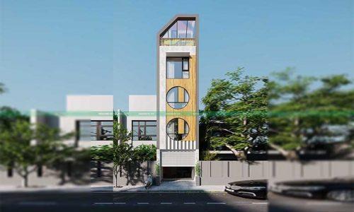 dự án thiết kế nhà phố tại Hoàng Mai