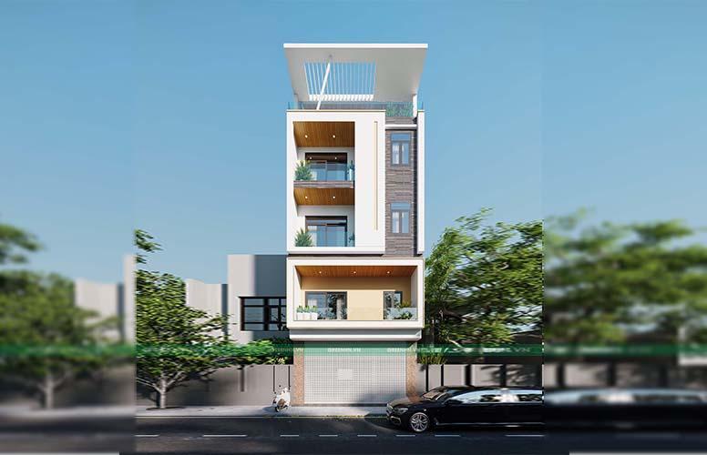 dự án thiết kế nhà phố tại Bắc Giang