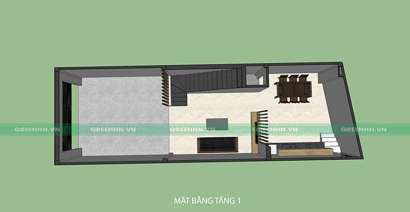 thiết kế nhà phố tại Gia Lâm