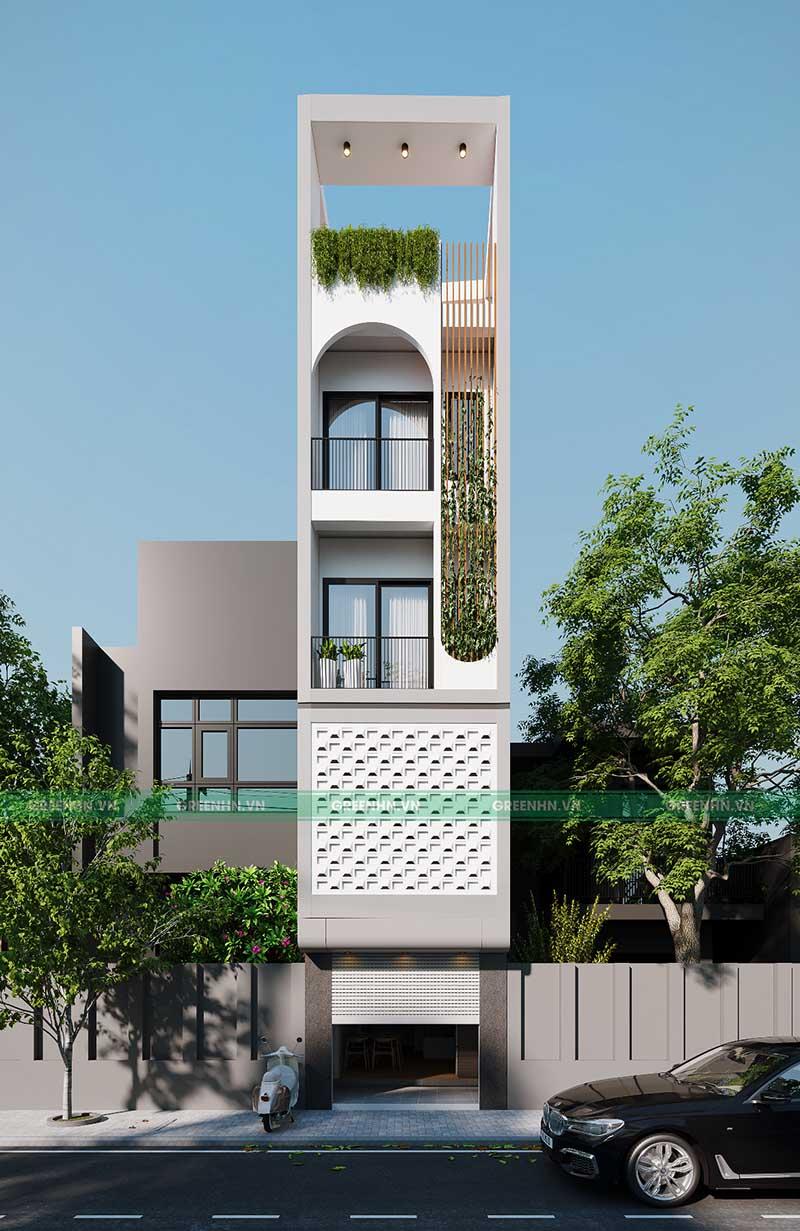 Công trình nhà anh Lạc - thành phố Hồ Chí Minh