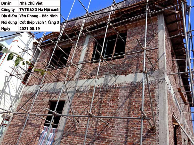 Thi công phần thô xây nhà trọn gói