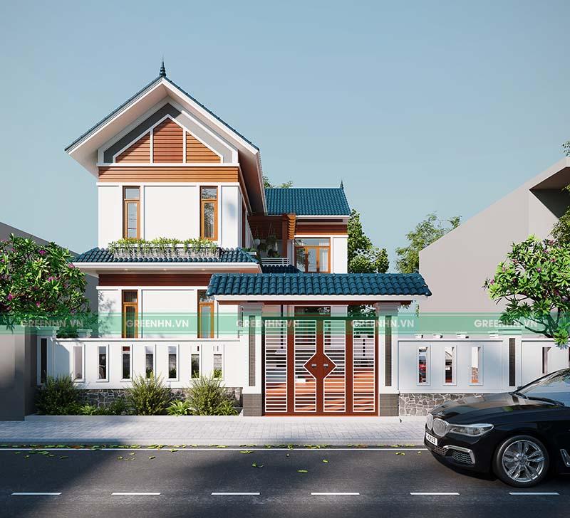 Thiết kế nhà phố nhà chị Phương - Gia Lâm