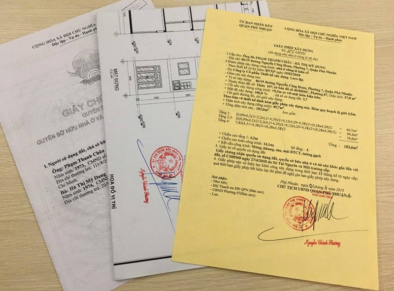 Xin giấy phép xây dựng tại quận Tây Hồ