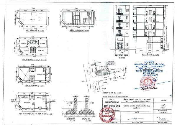 Xin giấy phép xây dựng tại quận Long Biên