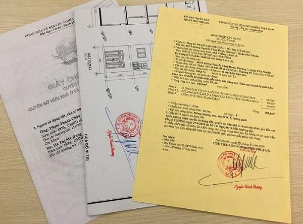 Hồ sơ xin phép xây dựng tại quận Nam Từ Niêm