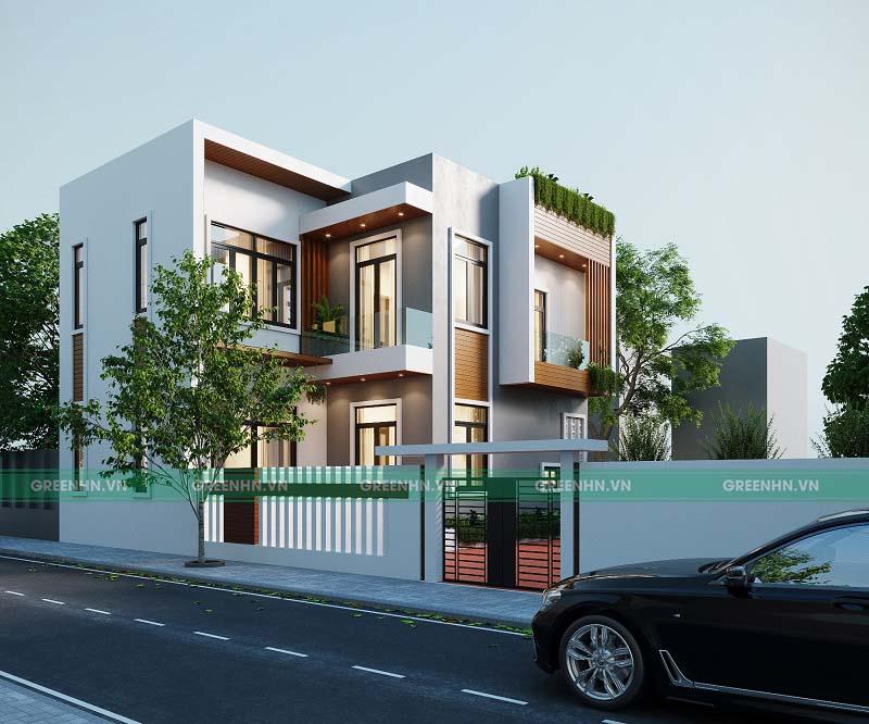 chi phí xây nhà 2 tầng