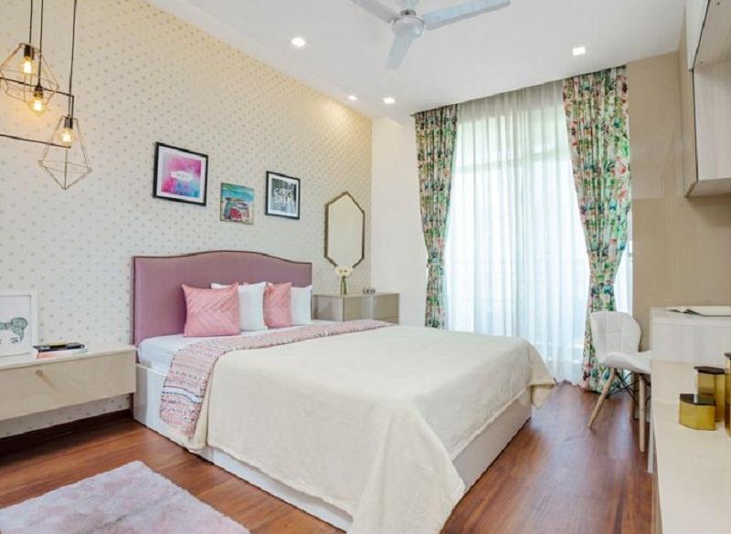 Phòng ngủ chính ấm áp