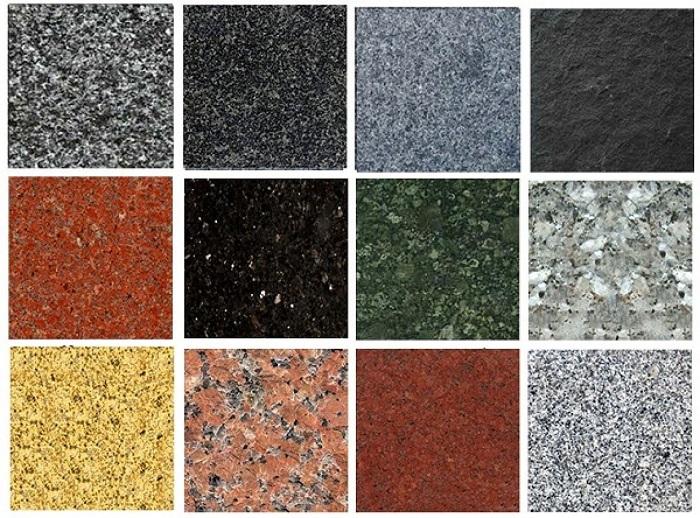 Gạch giả đá hoa cương và gạch Marble