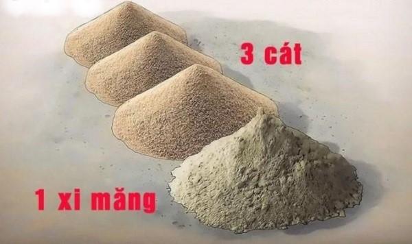 Tỷ lệ trộn vữa lát nền theo tiêu chuẩn giúp đảm bảo chất lượng công trình