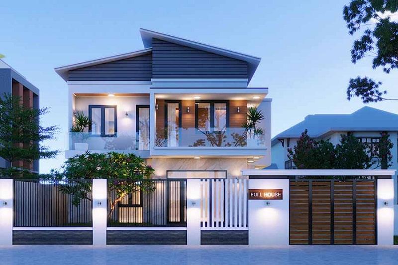Kinh nghiệm xây dựng nhà mái thái 2 tầng