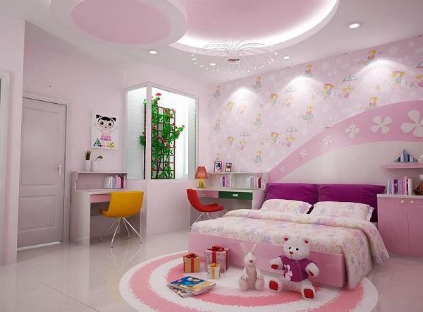 Phòng ngủ cho trẻ mệnh Thổ