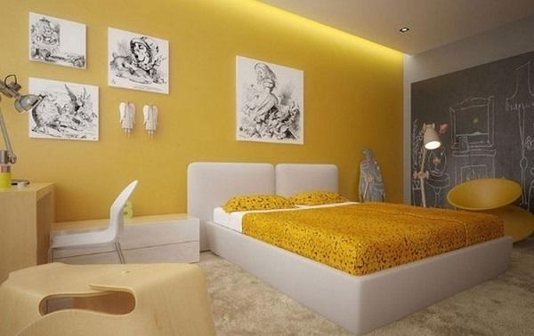 Phòng ngủ cho trẻ mệnh Hỏa